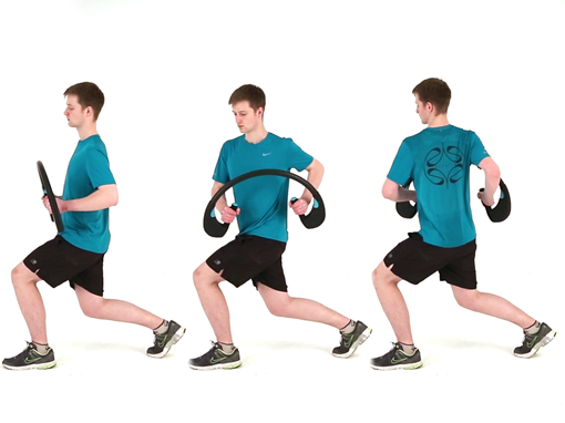 Lunge Side Twist, Arcufit Exercises